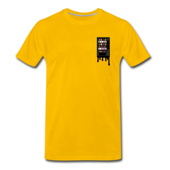 Vending Business Drip Men's Premium T-Shirt - sun yellow