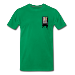 Vending Business Drip Men's Premium T-Shirt - kelly green