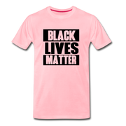 Black Lives Matter Men's Premium T-Shirt - pink