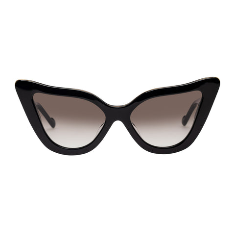 Zimmermann Female Paisley Black Cat-eye Sunglasses