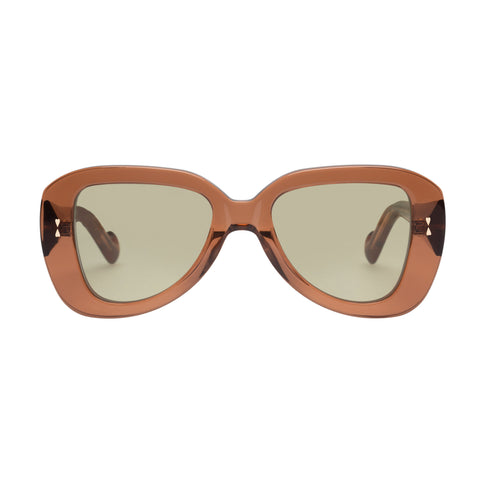 Zimmermann Female Juno Brown Aviator Sunglasses