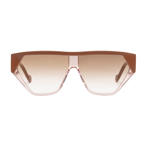 Zimmermann Female Resistance Rose Shield Sunglasses