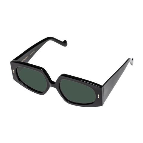 Zimmermann Female Espionage Black Rectangle Sunglasses