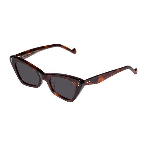 Zimmermann Female Tallow Black Cat-eye Sunglasses