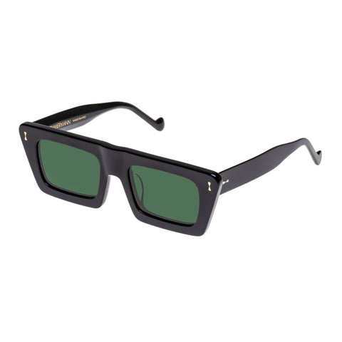 Zimmermann Female Carnaby 4117ss20 Black Modern Rectangle Sunglasses