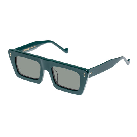 Zimmermann Female Carnaby 4118ss20 Green Modern Rectangle Sunglasses