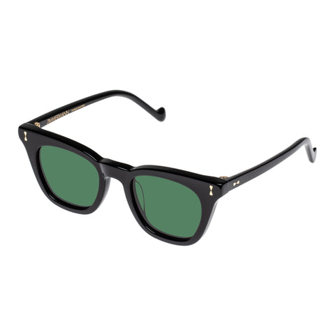 Zimmermann Female Bells 4120ss20 Black Modern Rectangle Sunglasses
