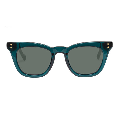 Zimmermann Female Bells 4122ss20 Green Modern Rectangle Sunglasses