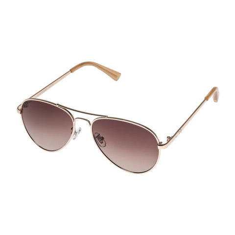 Aire Female Atmosphere Gold Aviator Sunglasses