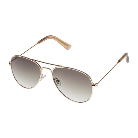 Aire Uni-sex Astronomy Gold Aviator Sunglasses