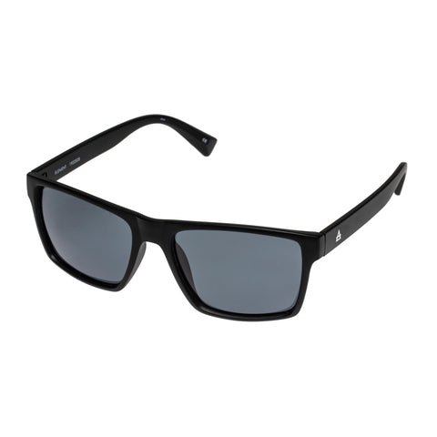 Aire Male Element Black Modern Rectangle Sunglasses