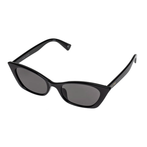 Aire Female Titania Black Cat-eye Sunglasses