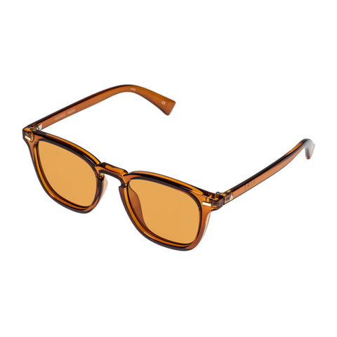 Aire Uni-sex Magnetic Orange Modern Rectangle Sunglasses