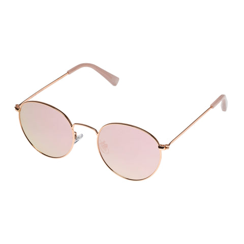 Aire Female Ozone Rose Round Sunglasses