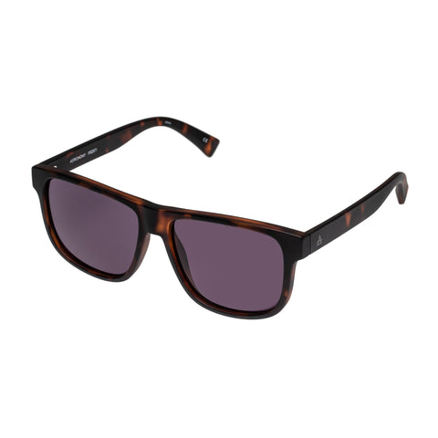 Aire Male Onyx Tort Modern Rectangle Sunglasses