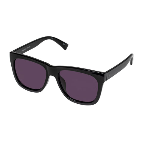 Aire Male Blackhole Black Modern Rectangle Sunglasses