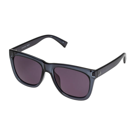 Aire Male Blackhole Blue Modern Rectangle Sunglasses
