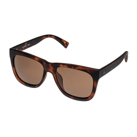 Aire Male Blackhole Tort Modern Rectangle Sunglasses