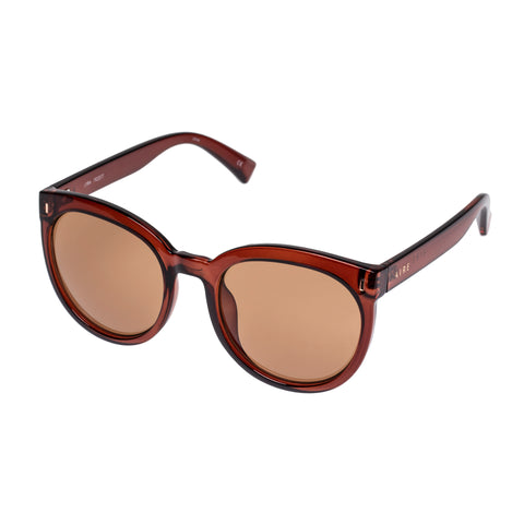Aire Female Lyra Rose Round Sunglasses