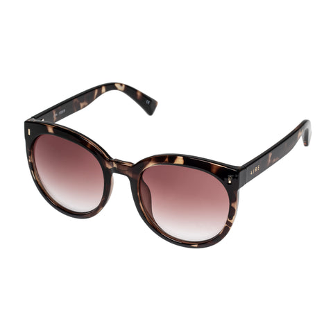 Aire Female Lyra Tort Round Sunglasses