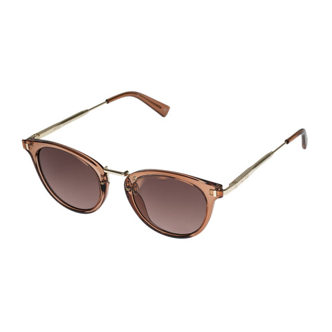 Aire Female Astro Tan Round Sunglasses