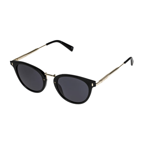 Aire Female Astro Black Round Sunglasses