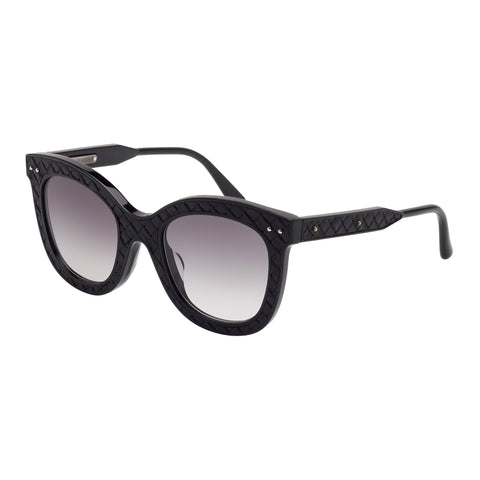 Bottega Veneta Female Bv0035sa001 Black (20)-2 Black Wrap Fashion Sunglasses