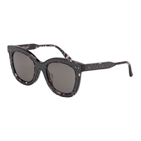 Bottega Veneta Female Bv0035sa002 Avana (20)-2 Tort Wrap Fashion Sunglasses
