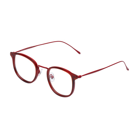 Carter Bond Male Toucan Red Oval Optical Frames