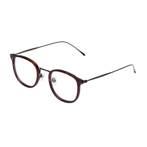 Carter Bond Male Toucan Blue Horn Oval Optical Frames