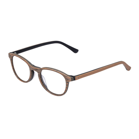 Carter Bond Male Vintage Brown Round Optical Frames