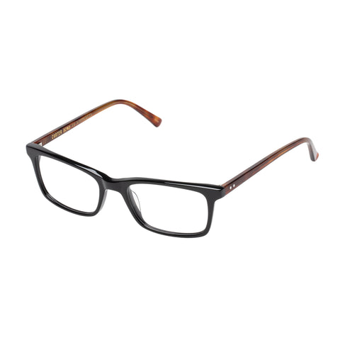 Carter Bond Uni-sex Marsh Black Rectangle Optical Frames