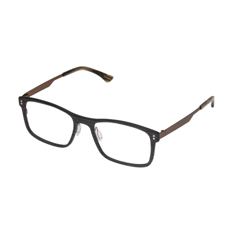 Carter Bond Male Malta Black Modern Rectangle Optical Frames