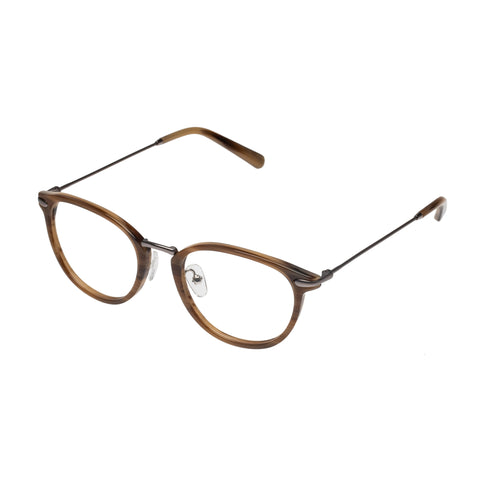 Carter Bond Male Nice Horn Round Optical Frames