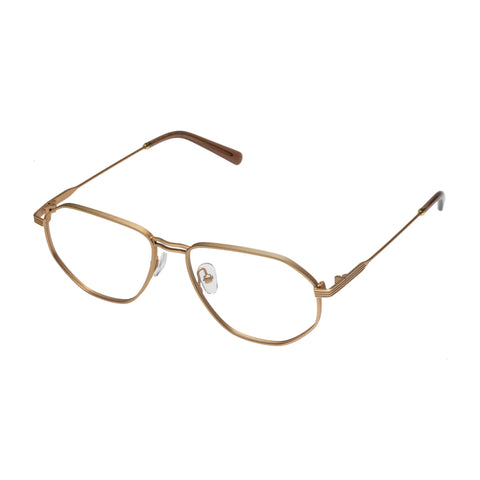Carter Bond Male Napoli Gold Aviator Optical Frames