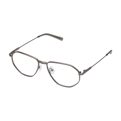 Carter Bond Male Napoli Grey Aviator Optical Frames