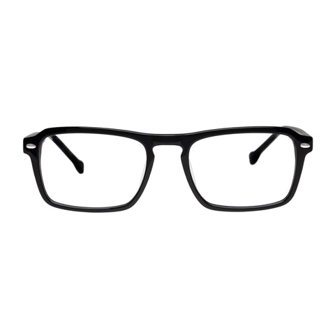 Carter Bond Male Positano Black Aviator Optical Frames