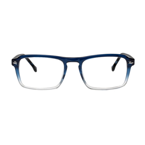 Carter Bond Male Positano Blue Aviator Optical Frames