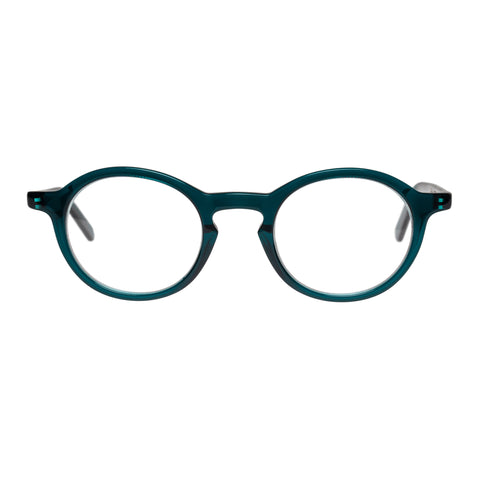Carter Bond Male Portofino Blue Round Optical Frames