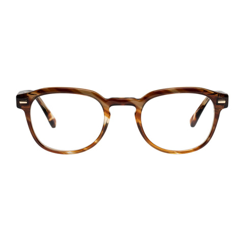 Carter Bond Uni-sex Rimini Horn Round Optical Frames