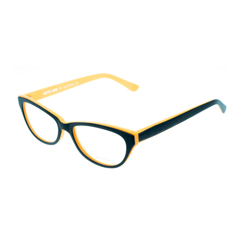 Carter Bond Male Wood Look Black Classic Optical Frames