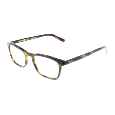 Carter Bond Male Retro 9236 Black Classic Optical Frames
