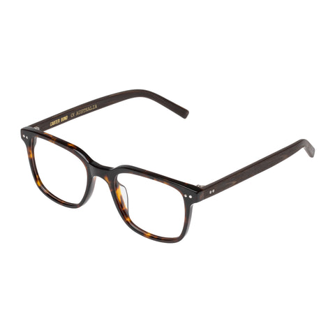 Carter Bond Male Vintage 9253 Black Classic Optical Frames