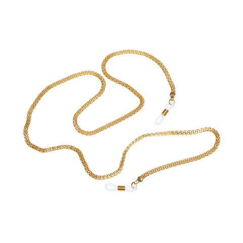 Le Specs Female Chunky Metal Neck Chain Gold Unspecified Accessories