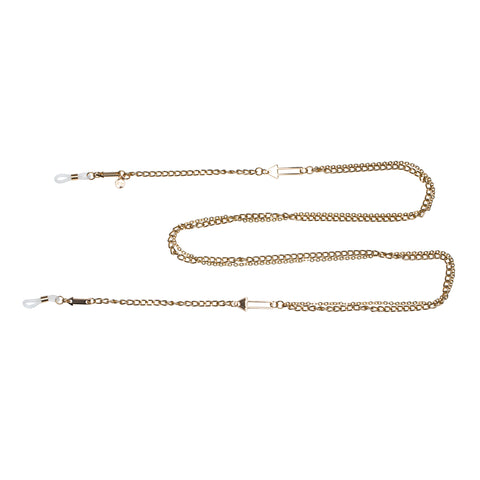 Karen Walker Uni-sex Arrow Double Chain Gold Unspecified Accessories