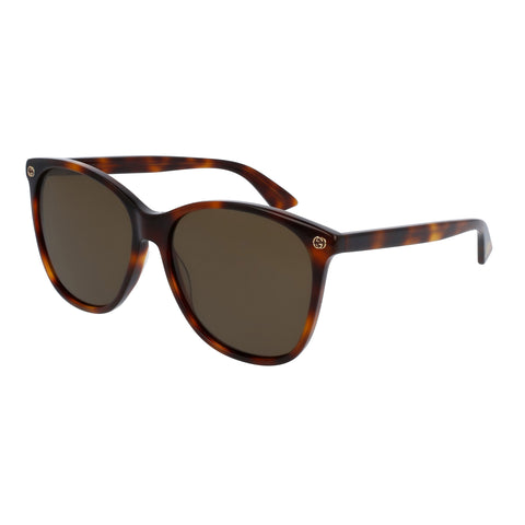 Gucci Female Gg0024s Tort Round Sunglasses