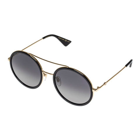 Gucci Female Gg0061s Gold Round Sunglasses