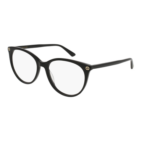 Gucci Female Gg0093o Black Round Optical Frames