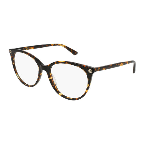 Gucci Female Gg0093o Tort Round Optical Frames