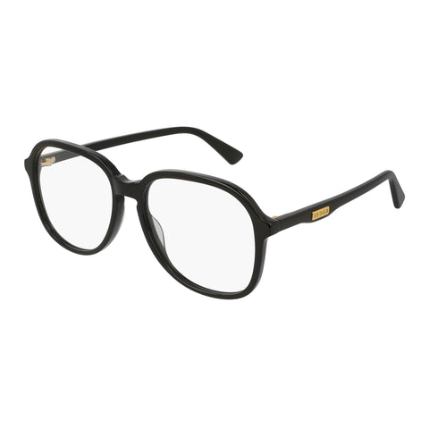 Gucci Female Gg0259o Black Round Optical Frames